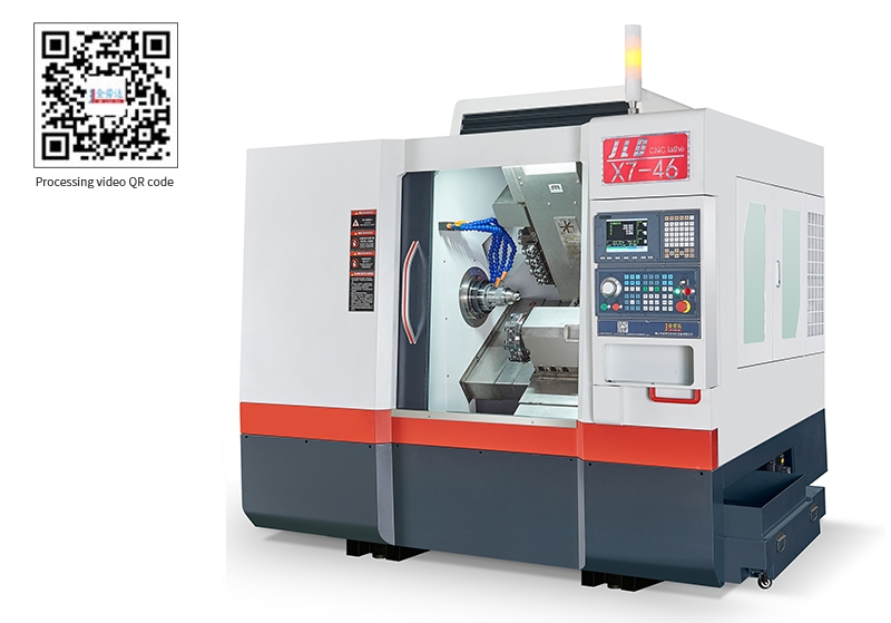 46X7-DT Turret turning and Milling compound NC Lathe