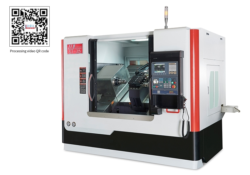 LDS-36ST Inclined rail double spindle CNC lathe
