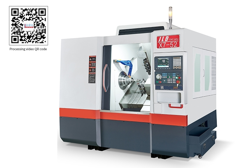 52X7-DT Turret turning and Milling compound NC Lathe