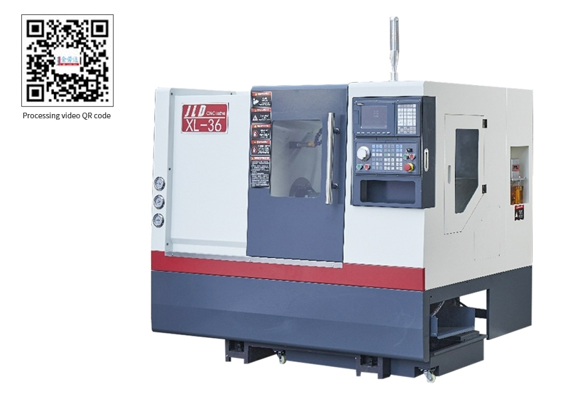 LDS-36XL Conjoined inclined rail CNC lathe